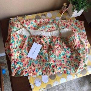 Lovers + Friends NWT summer floral mini dress sz M